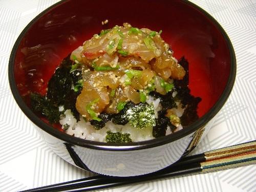 鯛の漬け飯(20061104)