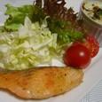 サーモンムニエル野菜グラタンソース(20070115)