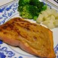鮭の味噌だれ焼き(20070206)
