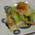 白菜と豚のおろしポン酢(20070215)