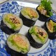 鮭巻き寿司(20070217)