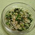 大根菜とジャコのふりかけ(20070221)