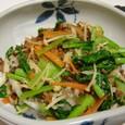 野菜炒め丼(20070303)