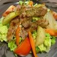 豚ロースと温野菜のバルサミコソース(20070404)