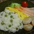 ピースご飯とホタテ(20070508)