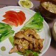 鶏のにんにく甘辛炒め(20070524)