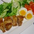 照焼きチキンとサラダ(20070601)