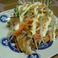 干しアジと野菜のマヨポン酢かけ(20070703)