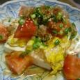 豆腐とトマトのサラダ(20070709)