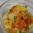 エビとトマトの卵とじ(20070718)
