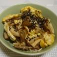 キノコと卵の炒め物(20070730)