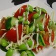枝豆入りサラダ(20070806)