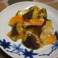 ナスと豚のピリカラ炒め(20070807)