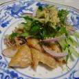干しアジと香味野菜(20070815)