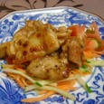 チキンのピリ辛マヨオイスター炒め(20070824)