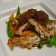 豚と野菜炒めの玉ねぎソース(20070829)