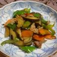 夏野菜の中華炒め(20070918)