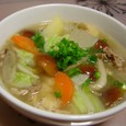 野菜たっぷり豚汁(20071210)