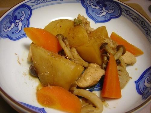 カブの煮物(20071126)